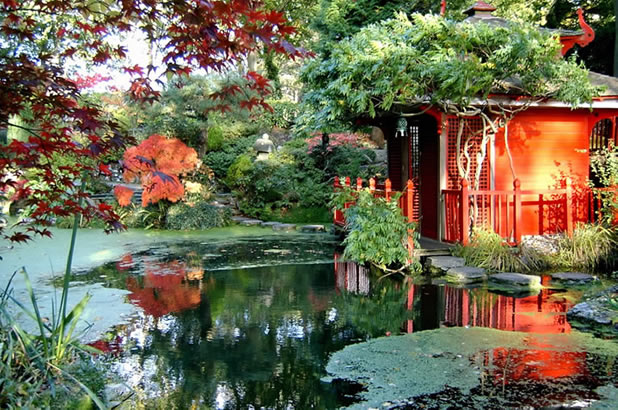 What is feng shui - Japanese style garden furniture brings harmony into your life ...